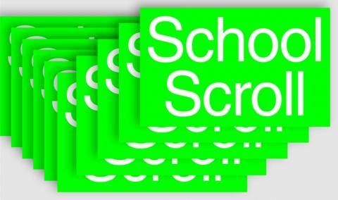 School Scroll bij Het Nieuwe Instituut