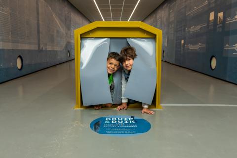 Zuiderzeemuseum-tunnel.